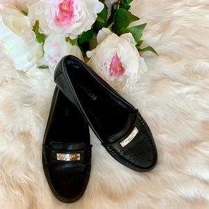 ✨COACH Black & Gold Loafers / Flats ✨